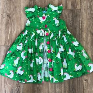 Little Miss Marmalade unicorn dress